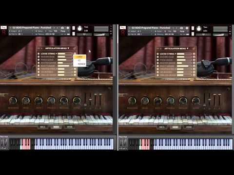 8Dio 1990 Prepared Studio Grand Piano Part 2