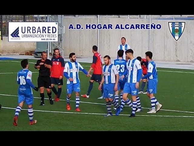 GOL DE JUAN ROJO  HOGAR ALCARREÑO 1  - 0  VILLA  6 -3 -2019     FUENTE LA NIÑA URBARED 10