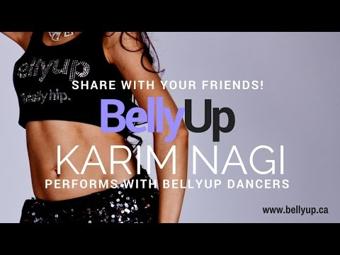 BellyUp students perform with Karim Nagi!