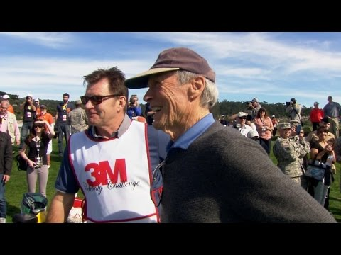 Clint Eastwood Interview At T Pebble Beach National Pro Am