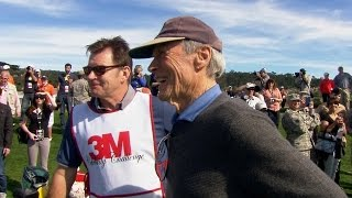 Clint Eastwood interview at AT&T Pebble Beach National Pro-Am