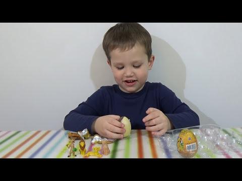 Распаковка Король Лев Симба яйца сюрприз игрушки