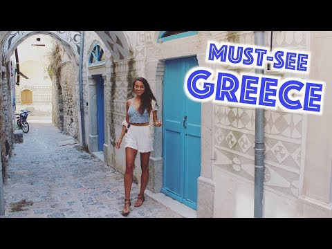The Most UNDERRATED Greek Island (Greece Travel Vlog)
