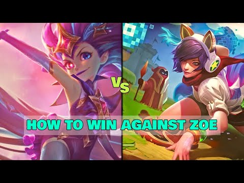 HOW TO WIN AGAINST ZOE | Ahri Gameplay