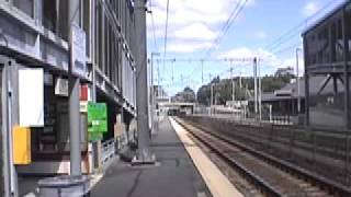 Amtrak Acela at 180-190 mph!!! (edited, and sped up)