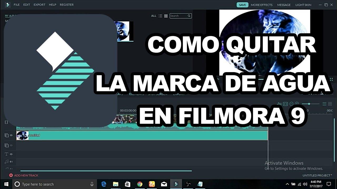 online store 5daad 0c0c1 TUTORIAL COMO QUITAR LA MARCA DE AGUA EN WONDERSHARE FILMORA 9 /Tutoriales/  BubiCindy