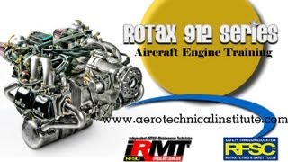 Rotax 912, Rotax 912 ULS, Rotax 914, Rotax 912 iS maintenance course, Aero Technical Institute.