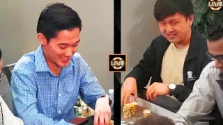 Top Pair Tries to Outplay Top Pair!! ♠ Live at the Bike!