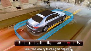 Mercedes S-Class 2021 - CRAZY 3D Parking surround system with 360° camera