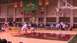 2015 1on1 平良 彰大vs濱田 拓也 B1 JAPAN 大学バスケ【市船対決】 thumbnail