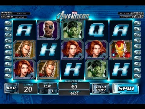 The Avengers Slot By Playtech - Casinos-Online-888.com