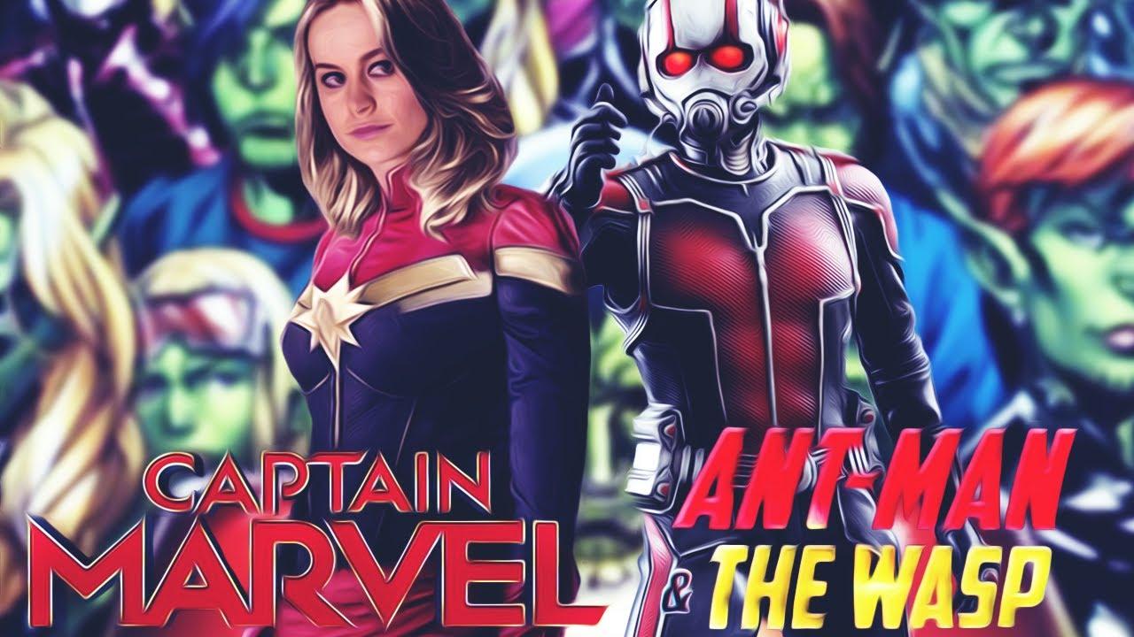 """""""Человек-Муравей и Оса"""" и """"Капитан Марвел"""" - Первая ..."""
