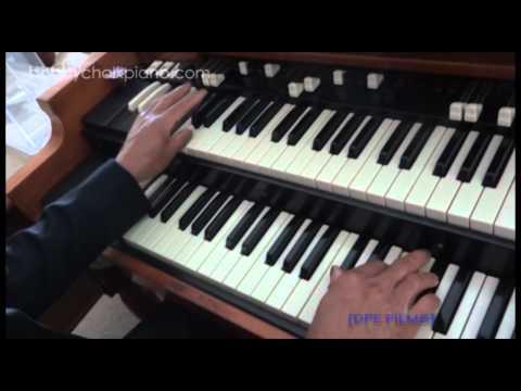 BOBBY CHALK GOSPEL ORGAN SHOUT MUSIC Ab Minor - Tutorial