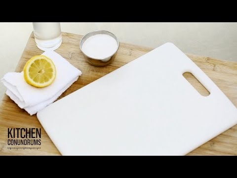 The Green Way to Clean Your Cutting Board - Kitchen Conundrums with Thomas Joseph