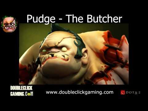 Dota 2 Pudge - The Butcher - Soundset - Voice