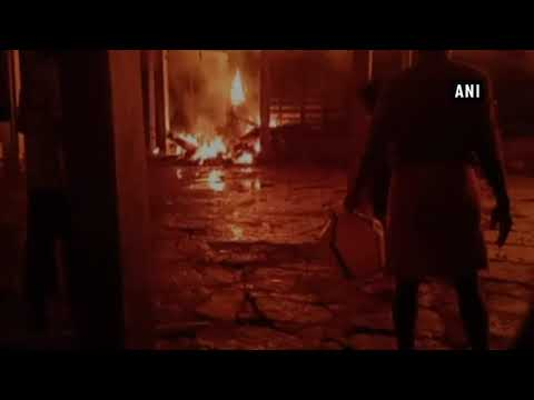 Fire erupts at Thiruvilwamala temple, part of temple partially gutted