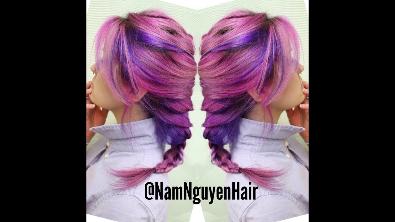 Nam Nguyen- DIY PINK HAIR COLOR!!!!! - YouTube