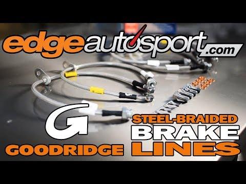 Goodridge G-Stop Stainless Steel Braided Brake Lines for 99-00 Honda Civic Si