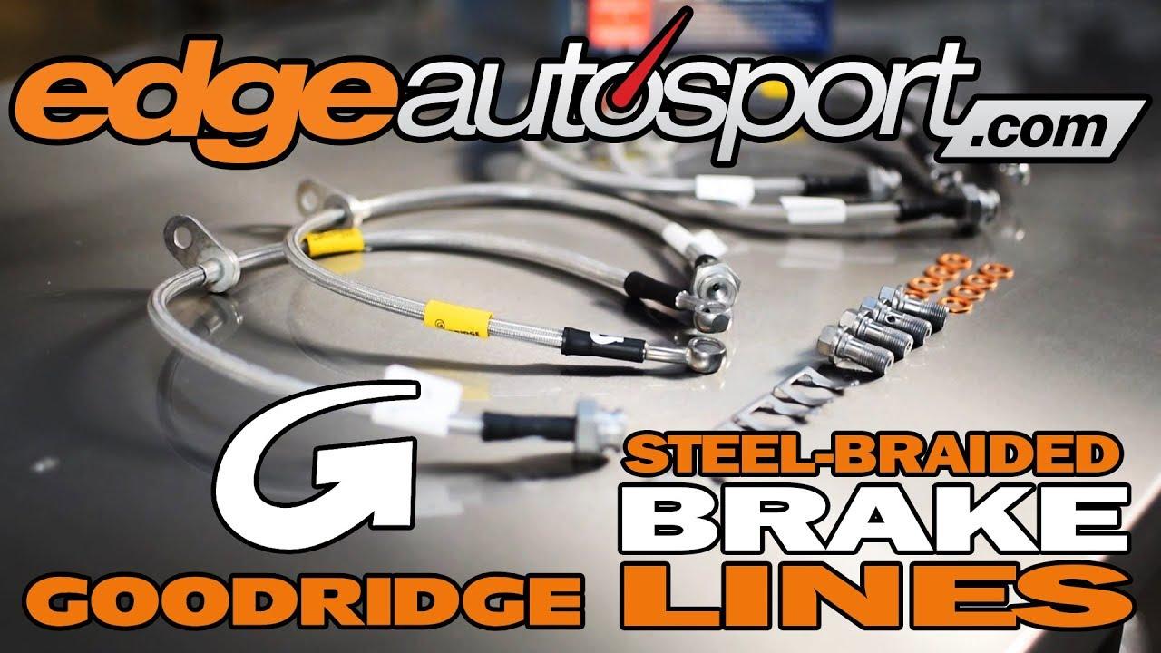Goodridge Hide-A-Line Brake Hose 25/'