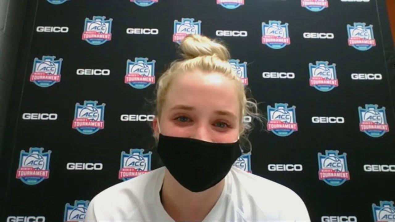 Hailey Van Lith on Big Game 2021-03-05