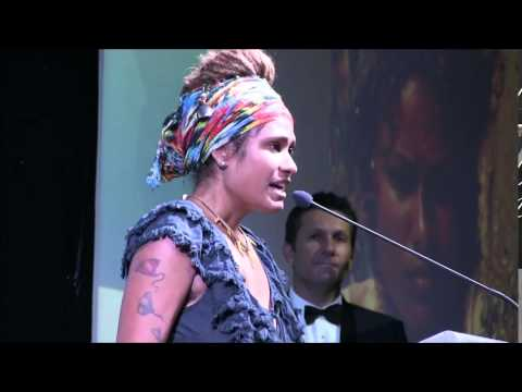 Alice Eather NT Young Achiever Awards Environemnt Award winner clip 5April2014 lo res