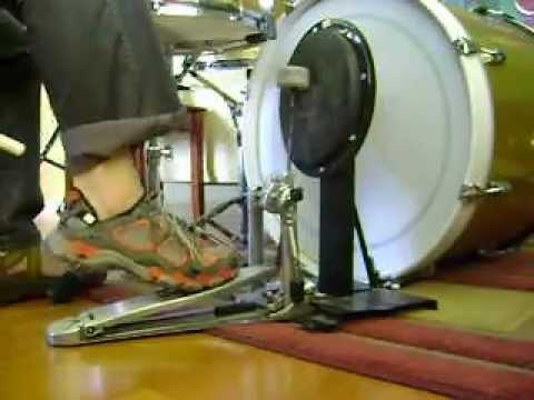 Jojo Mayer Bass Drum Technique