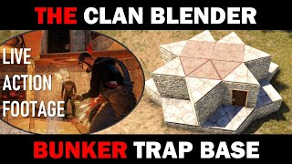The Clan Blender - A Bunker Trap Base + Live Action Footage