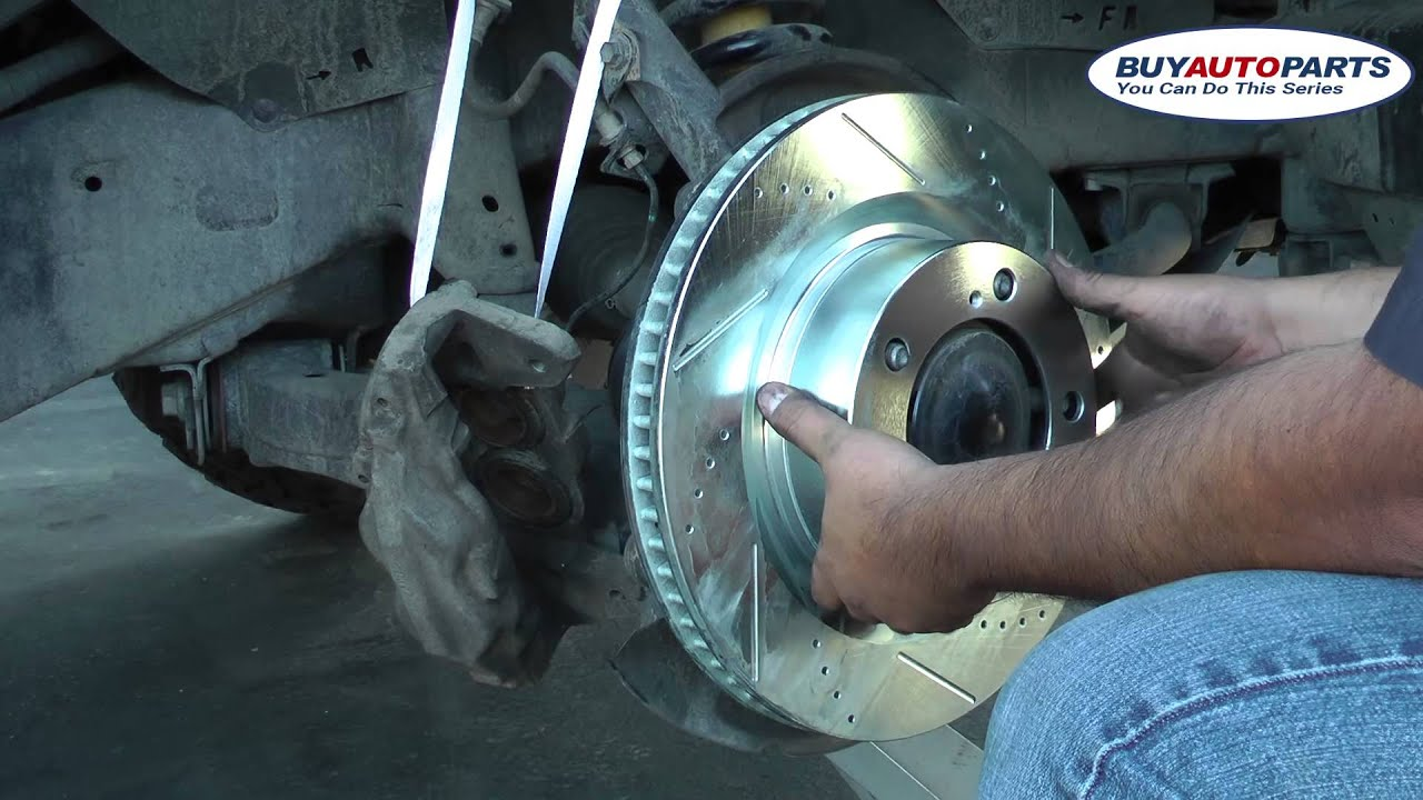 How To Replace Your 2012 Toyota Tundra Front Brakes And Rotors Youtube Navigation Wire Diagram