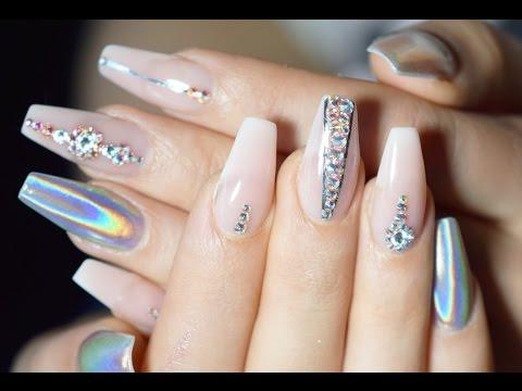 Коррекция нарощенных ногтей Как делают коррекцию ногтей?