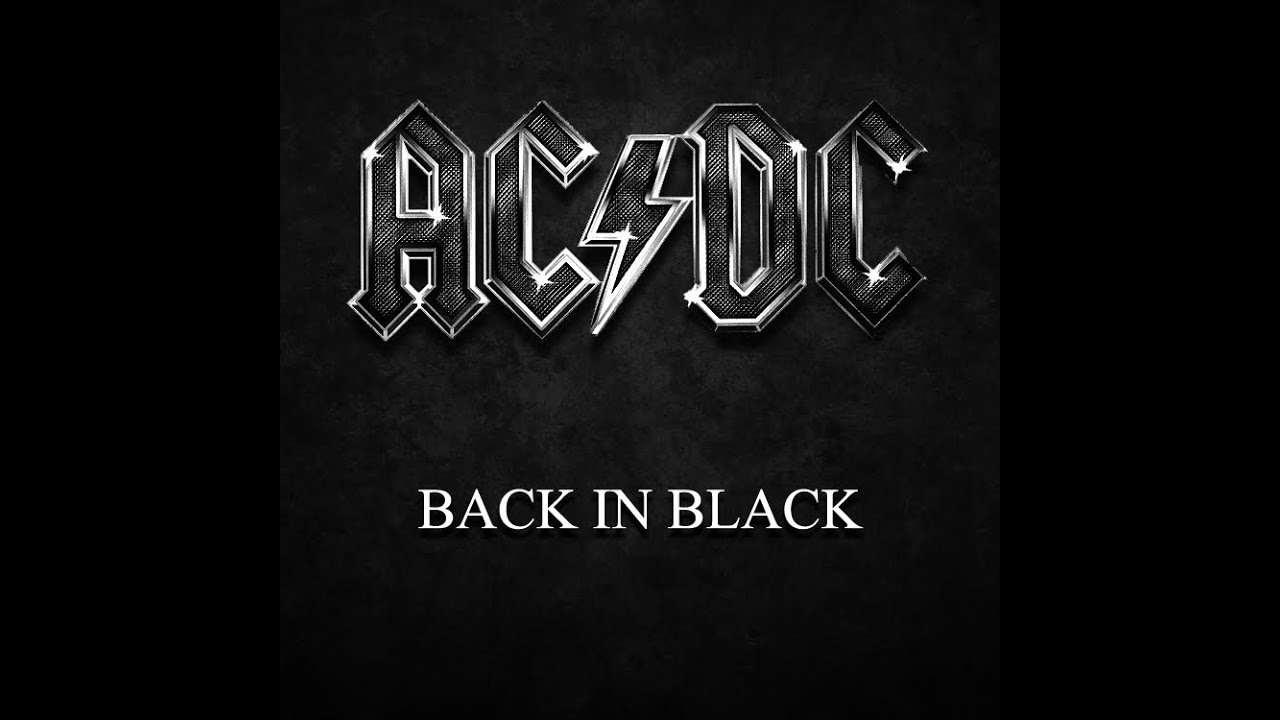 Back In Black Ac Dc: Back In Black Cover By Martial Allart