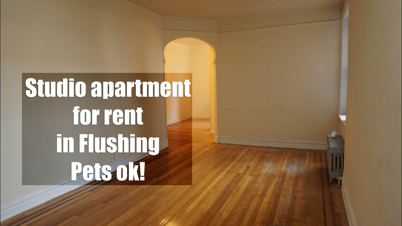 Studio Apartment Queens Nyc big studio apartment for rent in flushing, queens, nyc - youtube