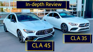 2020 AMG CLA 45 vs AMG CLA 35 - Which new AMG CLA should you buy? AMG CLA Review and Comparison