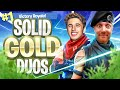HIGH KILL SOLID GOLD DUO SQUADS on Fortnite Battle Royale w/ Chip