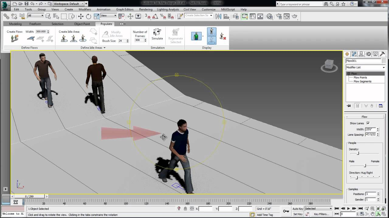 Tips Amp Tricks Autodesk 3ds Max Design 2014 Populate Tips
