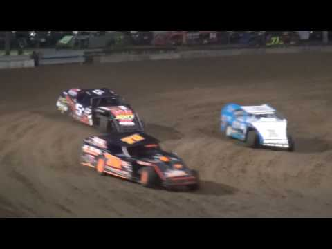 Albert Auto Night Modified Heat 3 Independence Motor Speedway 9/17/16