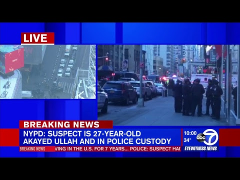 NYPD responds to incident at Port Authority Bus Terminal