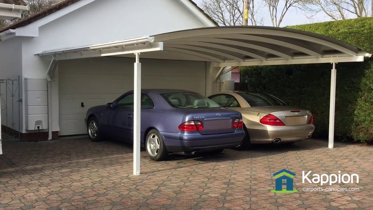 The Ultimate 2 Carport Canopy - YouTube