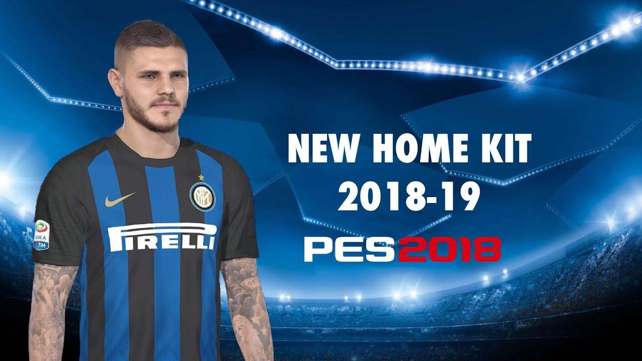 PES 2018 - Inter Milan NEW Home Kit 2018-19 (Link in Description ... 665af9351
