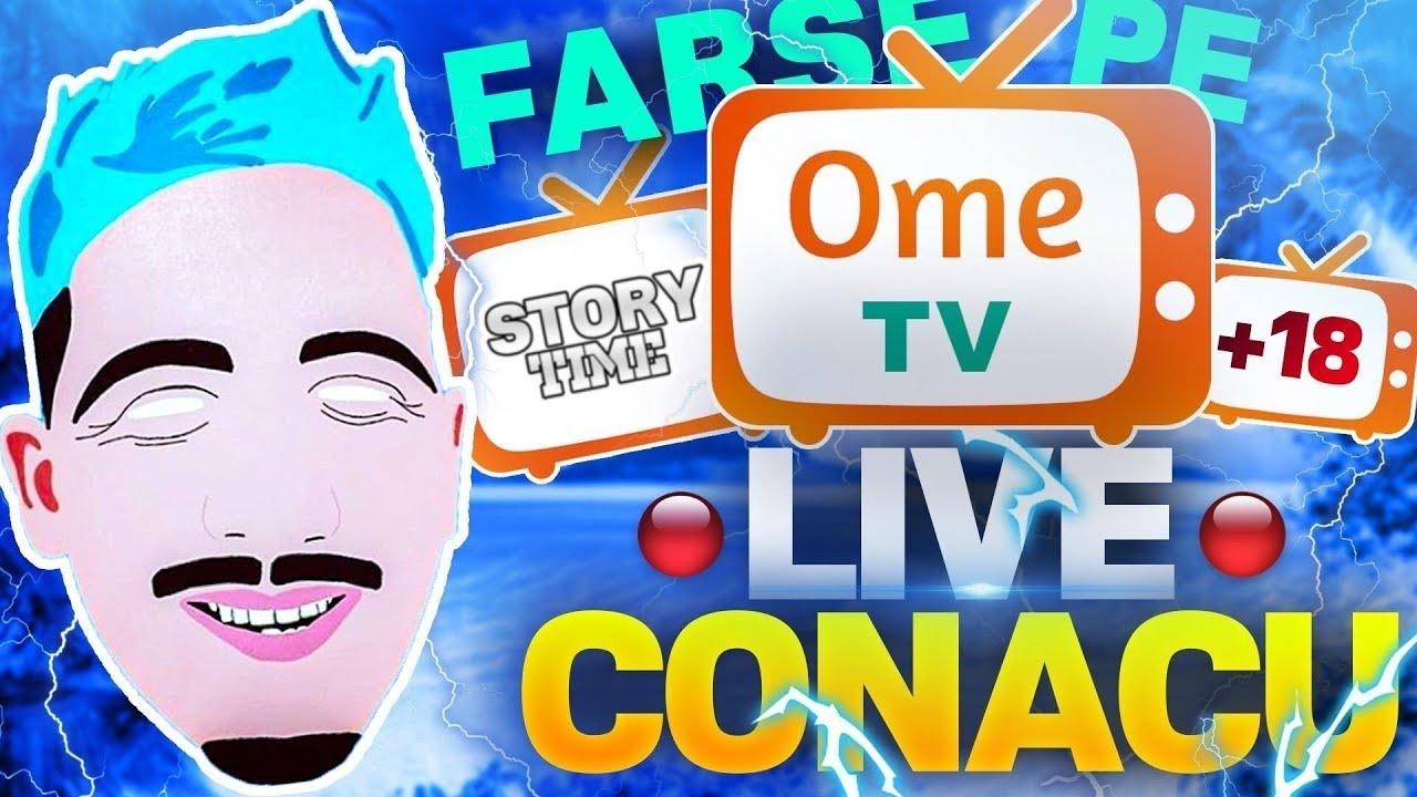 ?FARSE IN DIRECT PE OME.TV + FONFAITU' + SINDROMUL TOURETTE   || STORYTIME ????