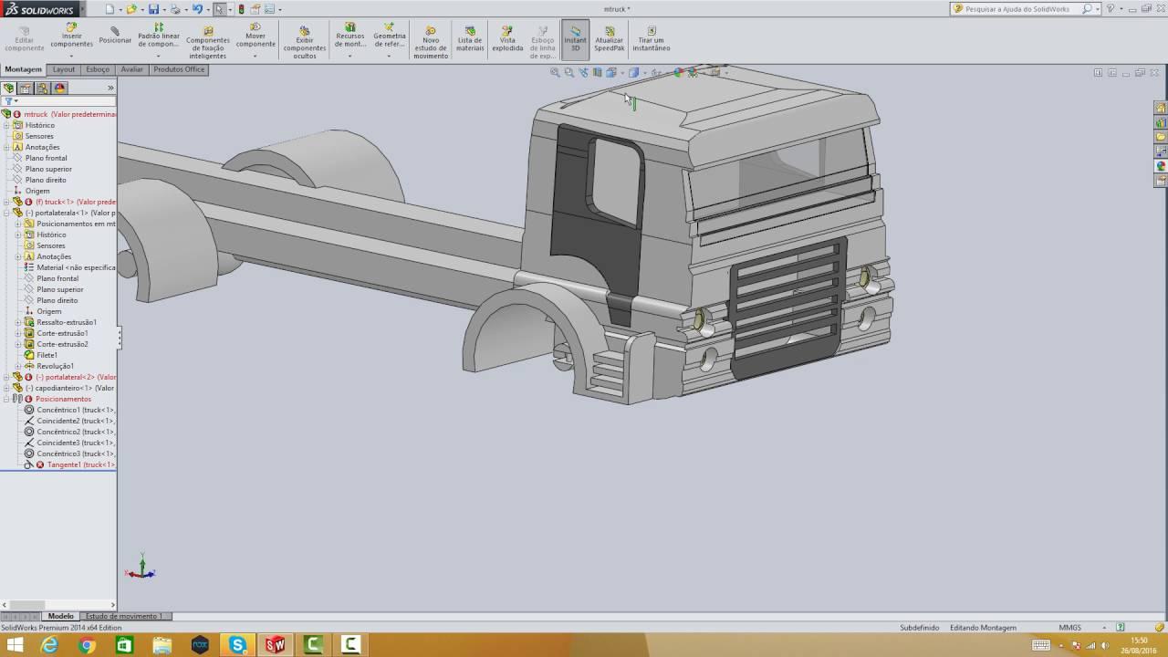 desenho de caminhão mercedes benz atron parte 17 youtube