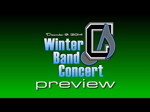 Chickahominy Middle School Winter Band Concert 2014 - Preview