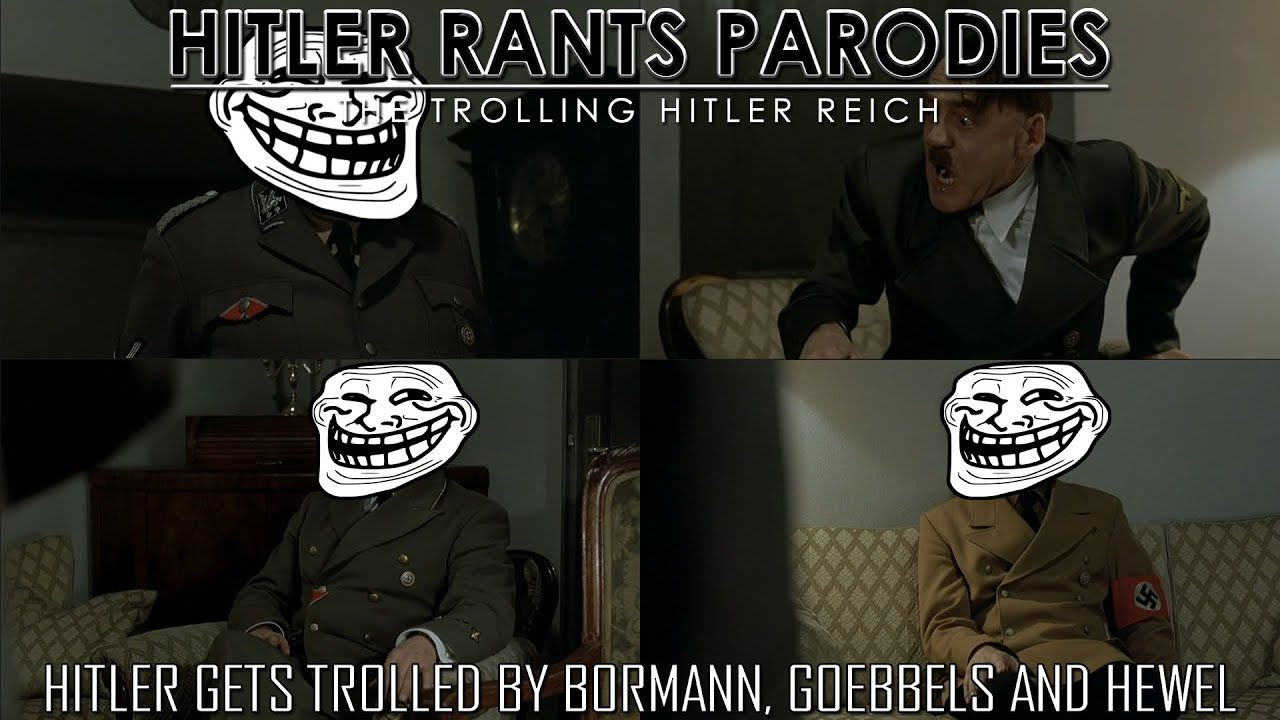 Hitler gets trolled by Bormann, Goebbels and Hewel