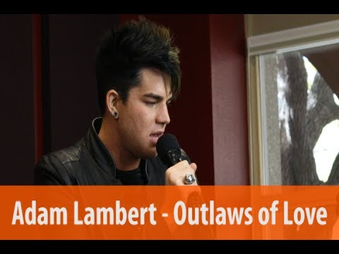 "Adam Lambert ""Outlaws of Love"" live acoustic performance"