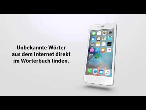 ►Übersetzer Englisch - die Wörterbuch-App Advanced von PONS fürs iPhone
