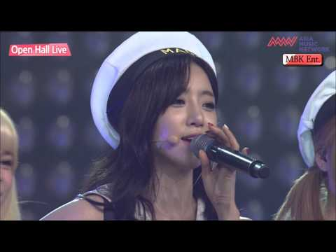 150911 Asia Music Network T-ARA+Shannon+DIA - Ending+Stick With U