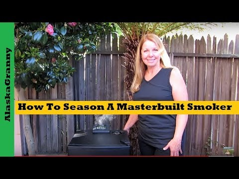 how to clean masterbuilt smoker youtube