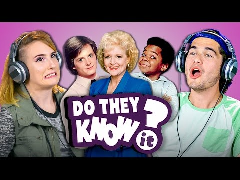 DO COLLEGE KIDS KNOW 80s TV SHOWS? (React: Do They Know It?)