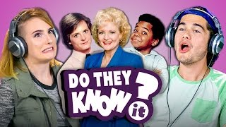 do college kids know 80s tv shows? react do they know it?