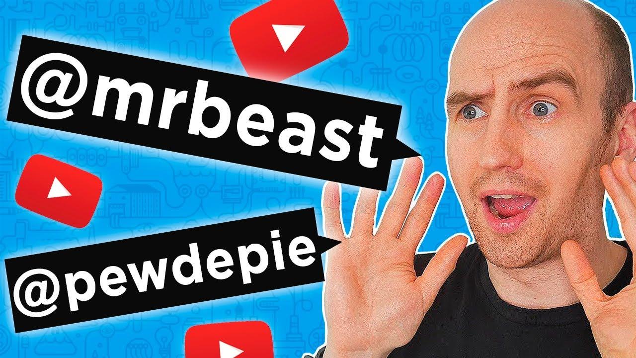 Cómo TENER MÁS VISTAS en YouTube con Menciones de Creadores: @MrBeast @PewDiePie o @vidIQ
