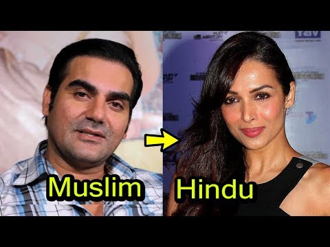 Top 11 Muslim Actors and their Hindu Wives of  Bollywood